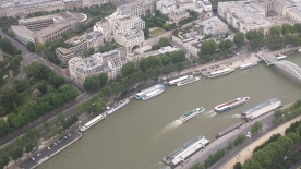 The River Seine.